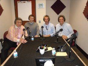 Entrepreneur David Cummings, Kyle Porter with SalesLoft and Johnson Cook with Atlanta Tech Village