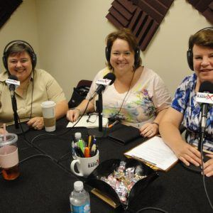 Bonnie Buol Ruszczyk with bbr Marketing, and Donna Grindle and Karla Kreitner with Kardon Technology