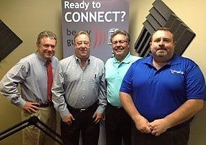 Steve Damerow with Loyaltyworks, Jeff Greene with Greene Worldwide Transportation and Randy Hicks with Meridian Star Merchant Services