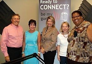 Greta Cairns with SCI Companies, Cindy Southwell with AFR Furniture Rental and Lisa Kennedy with Bobby Dodd Institute