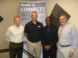 Robert Bentley with Children's Healthcare of Atlanta, Ken Dalton with MRP Design Group and Waylee George with Eastern Data