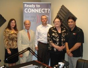Dr. Daniel Kaufman with the Gwinnett Chamber of Commerce, Carla Carraway with Precision Planning, Matt Hyatt with Rocket IT and Terri Jondahl with CAB Incorporated