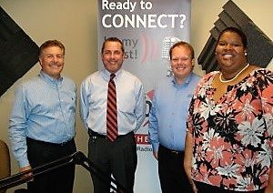 Doug Foote with Georgia United Credit Union and Trey Tompkins with Admin America