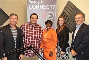 Wes Warrington and Tracy Wingate with Confirmatrix Laboratory, Bukky Olaoye with APremium Healthcare Solution and Jason Tatum with Gateway Center