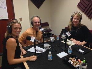 Erin Whitty with Two Men and A Truck, and Kelly and David Long with Orangetheory Fitness