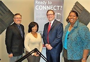Dr. LaBrita Cash-Baskett with Fundamental Focus and Dan Styf with Piedmont WellStar HealthPlans