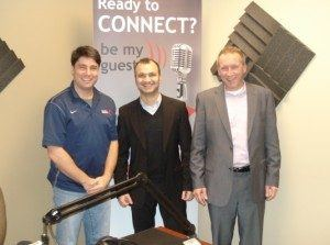 Nizar Bhojani with TextByChoice and Todd Souto with Sutter, McLellan & Gilbreath