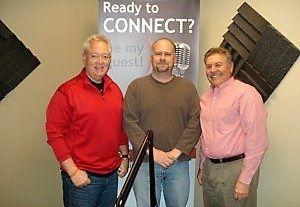 Greg Lang with Good Samaritan Health Center of Gwinnett and Financial Advisor Steven Julian