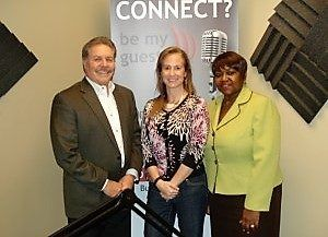 Shannon Russo with Kinetix HR and Vanessa Anderson with Covenant Christian Ministries Academy