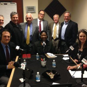 Sean Christopher Jones with Atlanta Broadcasting Advertising Club, Marc Antony Borrelli with Corporate Finance Associates,  Jack Scherer with SALESTALENT, Doug Davidson with New South Construction, and Michele Velcheck with Solid Source Companies