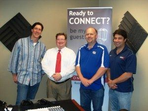 Richard Young with Farmers Insurance and Kyle Glave with NOVAtime Technology