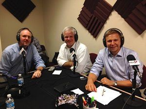 Brett Cooper with Bluefletch, Howard Sanders with Marketing Workshop, and Grady Thrasher with CrowdVested