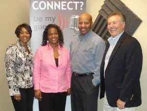 Clarissa Nelson with Islanomics, Charlotte Baker with CB Training Services, and Darryl Baker with Baker Global Enterprises