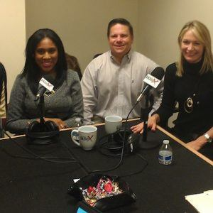 Nancy Glube with Dale Carnegie Training, Jack Canouse and Chris Albano with Stars and Strikes, Tonya Lanthier with DentalPost and Dontaira Terrell