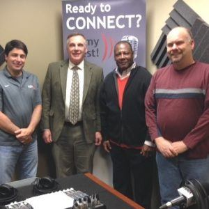 Ken Lewandowski with Aviation Institute of Maintenance and Anthony Mitchell with IMPACT! Group