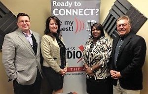 Joe Skopitz with Centennial Olympic Park, Maureen Kornowa with Gwinnett Children's Shelter and Vanessa Anderson with Covenant Christian Ministries Academy
