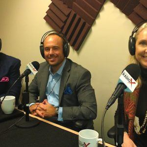 Anne Marsden with Marsden and Associates, Mike Belote with Peak 10 and Ryan Freeze with Disrupt Atlanta