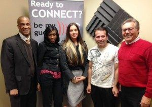 Tricia Alvarez, Ronnie Strawberry and Kellyann Gerrow with Eliot Management Group