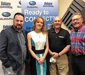 Roman Weaver with Live Eye 360/360 Films, Kristina Insley with Insley Insurance and David Post with Future Security