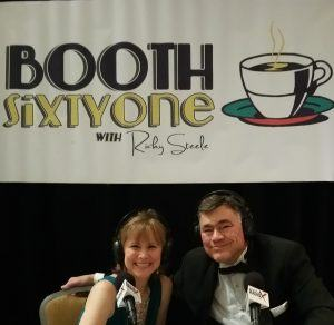 Lisa LaRoque, Executive Director of the Georgia CIO Leadership Association, visited Booth 61 at the 2015 Techbridge Digital Ball
