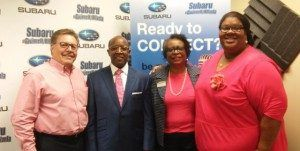 Dr. Benson Karanja with Beulah Heights University and Victoria Archable with CarePatrol of Metro Atlanta