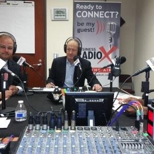 Gregg Simon of Metro Atlanta Chamber with Baha Zeidan and Todd Fryburger