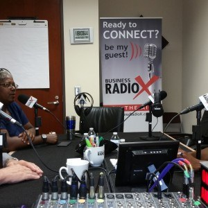 Dr. Elaina George of Peachtree Ear, Nose & Throat and Frank Martin