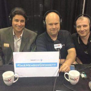 Trade Show Radio Broadcasts LIVE from the Gwinnett Chamber Business Expo 2015