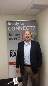 "Pensacola Business Radio 10.06.15 – Guests: Jerold ""Buck"" Hall with Eggfest and Chain Reaction"