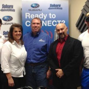 OPEN FOR BUSINESS: Theresa & Don Conklin with Pinnacle Custom Signs, Eric Boxer with Tapout Fitness, and Garrett Abdo with the Atlanta Comedy Theater
