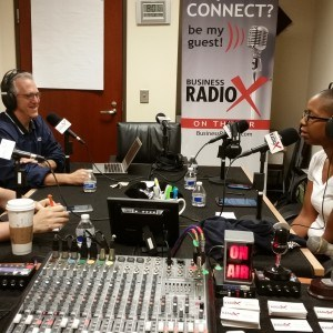 Stone Payton and Lee Kantor of Business RadioX