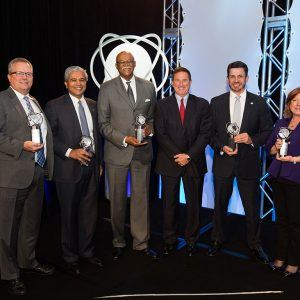 James Dallas, Life Time Achievement Recipient at GCLA's 2015 CIO of the Year Awards
