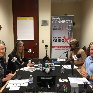 Emma Morris of Jem, Inc., Shannon Grube of Blackfin Square, Inc. and Tyler Workman of Okoa Refuge