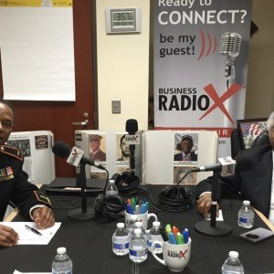 Ambassador Theodore R. Britton and CWO4 (ret) Fred L. Codes with The Montford Point Marines Association