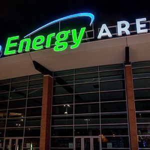 PRESS CONFERENCE: Infinite Energy Arena Unveils Marquee Sign