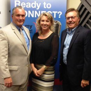 Brian Peart of Commercial Capital and Dawn Poplawski of PCC Innovative Solutions