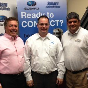 Chris Arrendale of Inbox Pros and Andy Green with Kennesaw State University