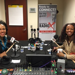 Vonetta Daniels with VYD and Associates and Tiffany C. Wright with The Resourceful CEO