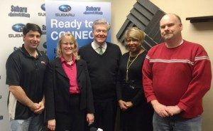 John Ray of Bookkeeping Express/Ray Business Advisors, Tara Lamboley of REV Demand and Ann Hall of Own Your Idea