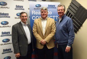 SIMON SAYS, LET'S TALK BUSINESS: Todd Evans of Jackson EMC and North Johnson of Gwinnett Braves