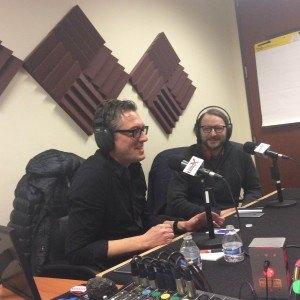 Kit Hughes and Paul Sternberg of Look-Listen