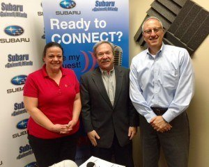 BREAKING PAR IN BUSINESS: Lisa Bianchini with Lexis Printing & Fulfillment and Harold Kolbe with BluIP