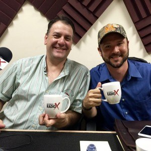Andy Wickman and Andrew Hurst with Warrior Outdoors Inc.