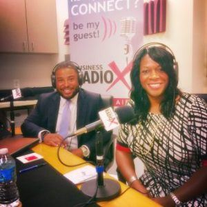 Dr. Dionne Poulton and Jermaine Pettis of Brand Bank