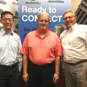 Tao Yang Han with IronCAD and Lloyd Lofton with 7 Figure Sales Tools