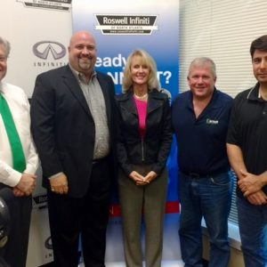 Kurt Hilbert with The Hilbert Law Firm, Dawn Cook with DayBreak Enterprises, and Mike Nolan with Star Asset Security