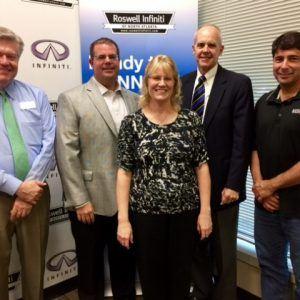 Kenneth Davis with Renasant Bank, Tara Lamboley with REV Demand, and Brad Camp with Talos Consulting