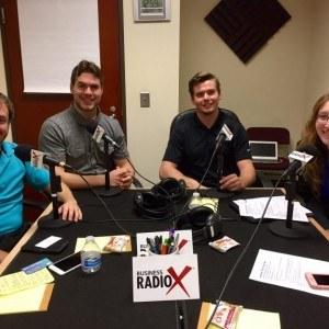 Biz Radio U Featuring Rusty Barringer and Andrew Wilkin with HHCard