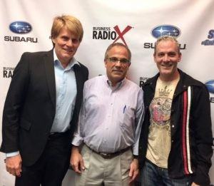 Business and Music: Rob Kuehl with Maier America and Alan Schaefer with Banding People Together