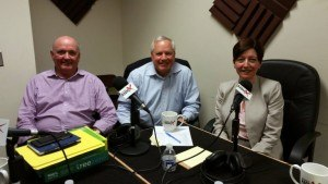 Mike Nilan and Craig Ramsey with TreeZero and Paula Munger with NAA
